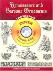 Renaissance and Baroque Ornaments CD-ROM and Book