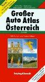 Austria Road Map: Austria Large Motoring Atlas