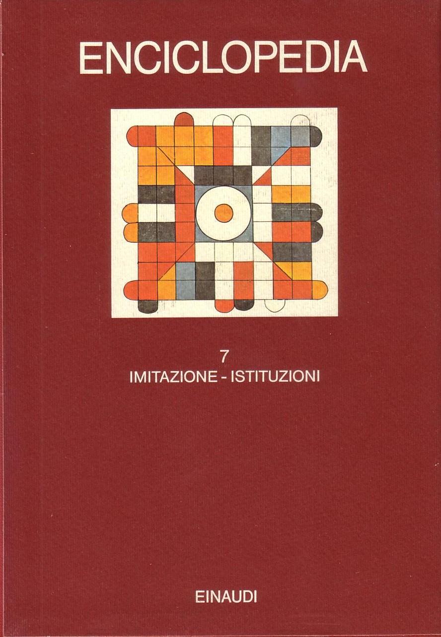 Enciclopedia Einaudi - Vol. VII