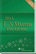 U.S. Master Tax Guide 2013