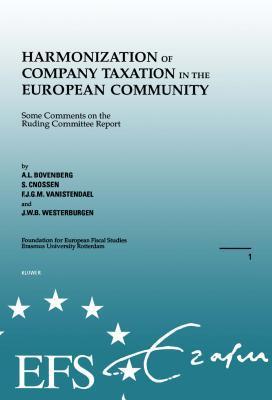 Harmonization of Company Taxation in the European Community