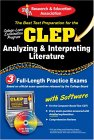 CLEP Analyzing & Interpreting Literature with CD-ROM (REA)