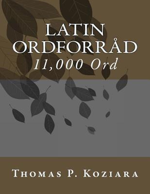 Latin Ordforrad