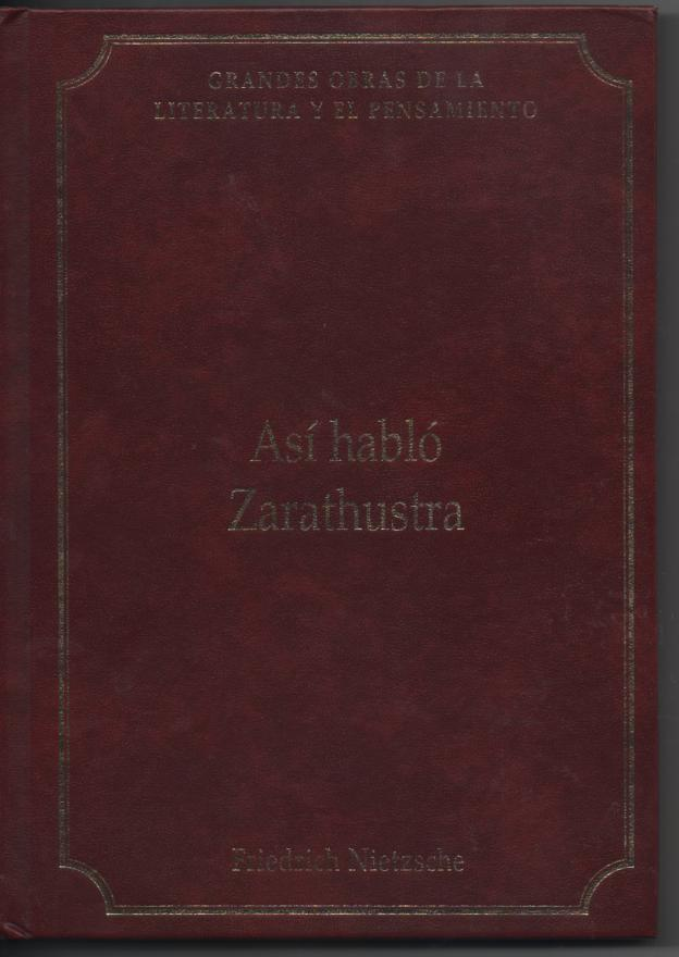 Así hablo Zarathust...