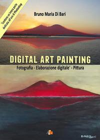 Digital art painting. Fotografia, elaborazione digitale, pittura