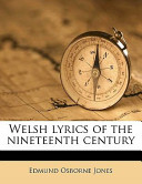 Welsh Lyrics of the Nineteenth Century