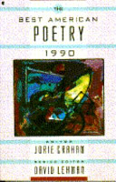 The Best American Poetry 1990