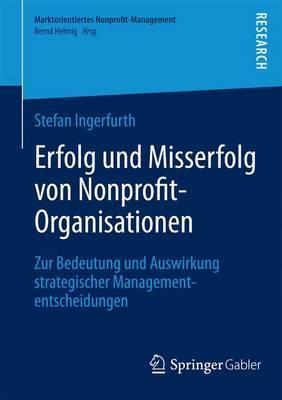 Erfolg Und Misserfolg Von Nonprofit-organisationen