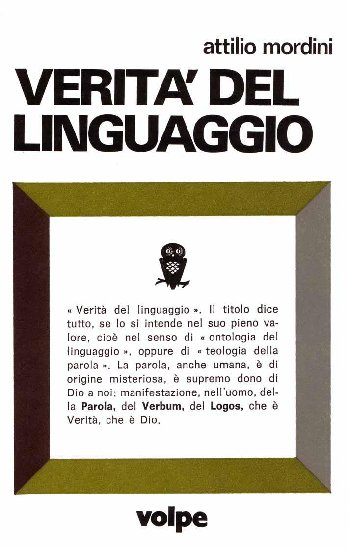 Verità del linguaggio