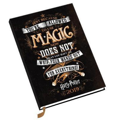 Harry Potter A5 Official 2019 Diary - A5 Diary Format