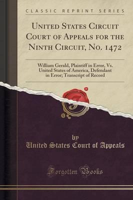 United States Circuit Court of Appeals for the Ninth Circuit, No. 1472