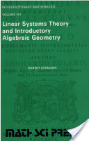 Linear Systems Theory and Introductory Algebraic Geometry