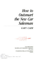 How to Outsmart the New Car Salesman
