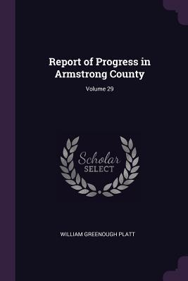 Report of Progress in Armstrong County; Volume 29