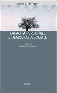 Capacità personale e democrazia sociale
