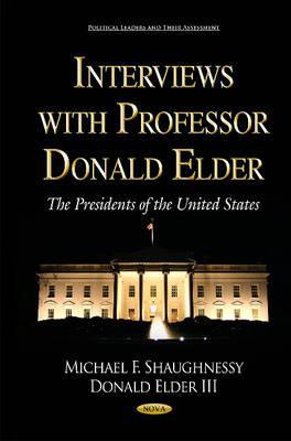 Interviews With Professor Donald Elder