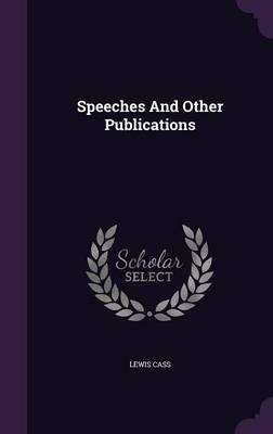 Speeches and Other Publications