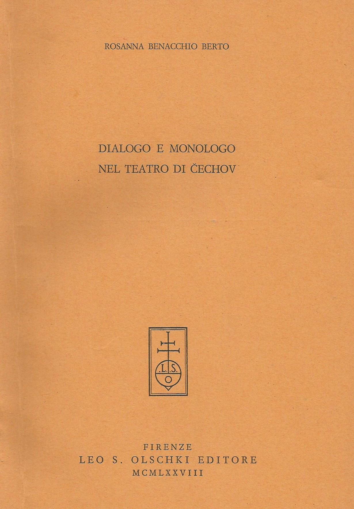 Dialogo e monologo nel teatro di Čechov
