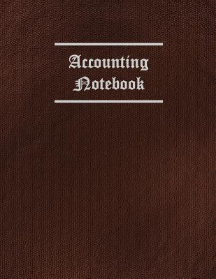 Accounting 3 Column Ledger Notebook