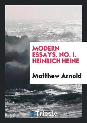 Modern Essays. No. I...