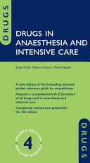Drugs in Anaesthesia...