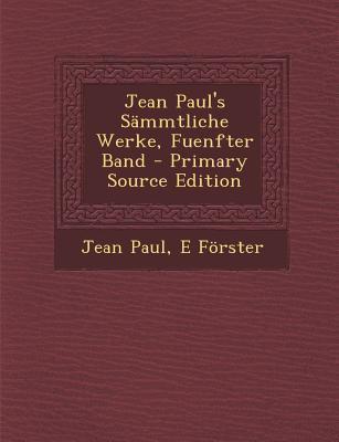 Jean Paul's Sammtliche Werke, Fuenfter Band