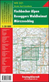 Fischbacher Alpen, Roseggers Waldheimat, Mürzzuschlag 1