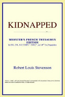 Kidnapped (Webster's French Thesaurus Edition)
