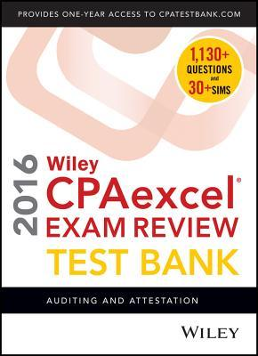 Wiley CPAexcel Exam Review Test Bank 2016