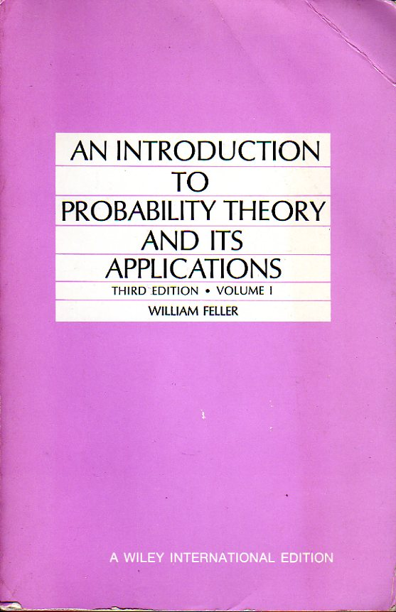 An Introduction to Probability Theory and Its Applications: volume 1