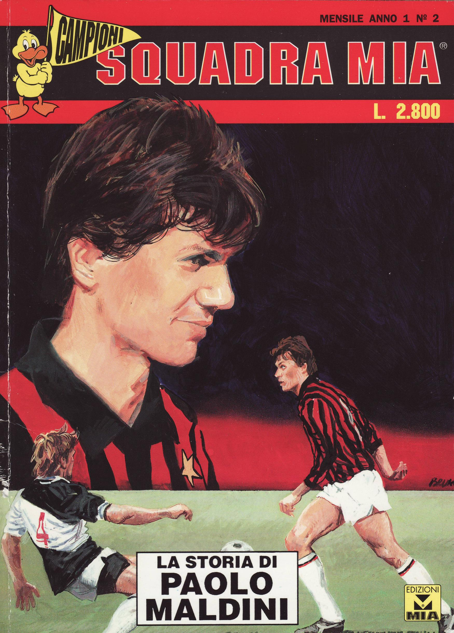 La storia di Paolo Maldini