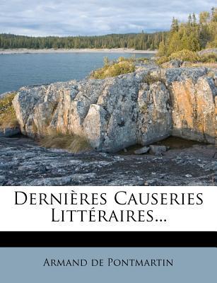 Derni Res Causeries ...