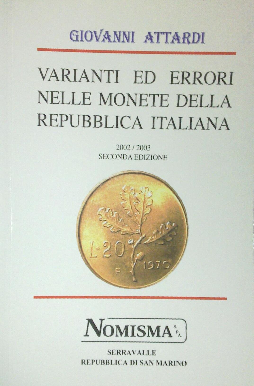 Varianti ed errori nelle monete della Repubblica italiana