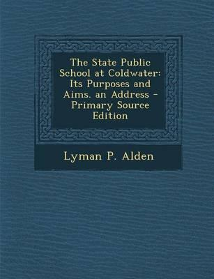 The State Public School at Coldwater