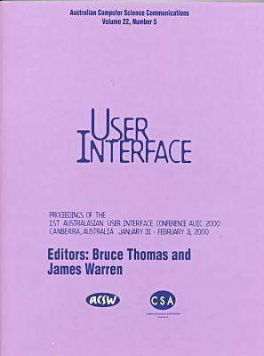 First Australasian User Interface Conference, Auic 2000