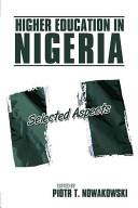 Higher Education in Nigeria