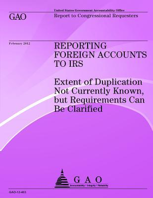 Reporting Foreign Accounts to IRS