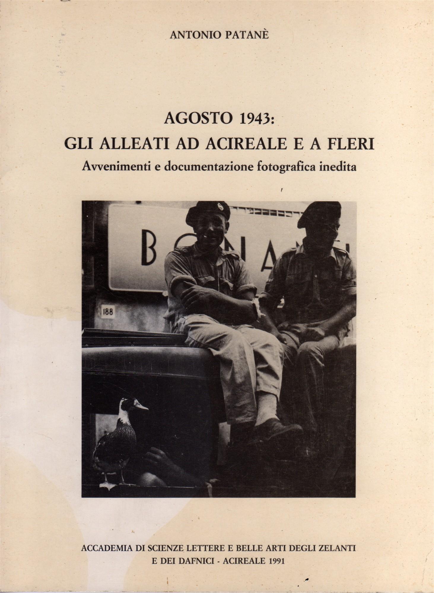 Agosto 1943: gli Alleati ad Acireale e a Fleri