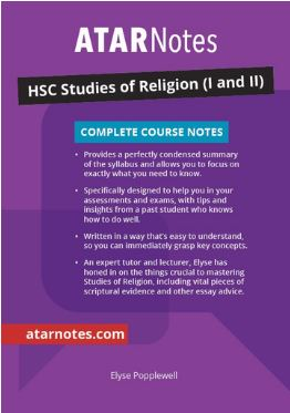 HSC Studies of Religion (I and II) Complete Course Notes