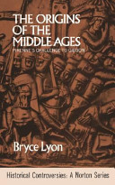 The origins of the Middle Ages