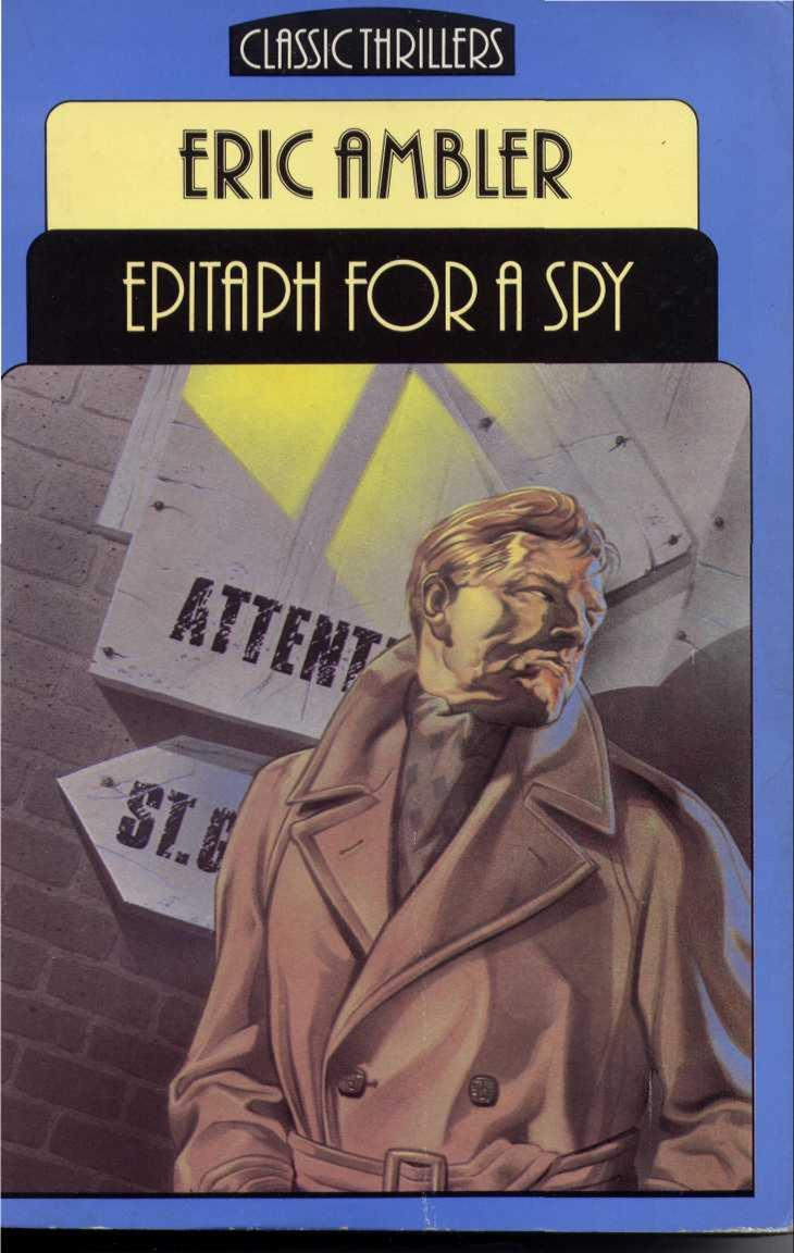 Epitaph for a Spy