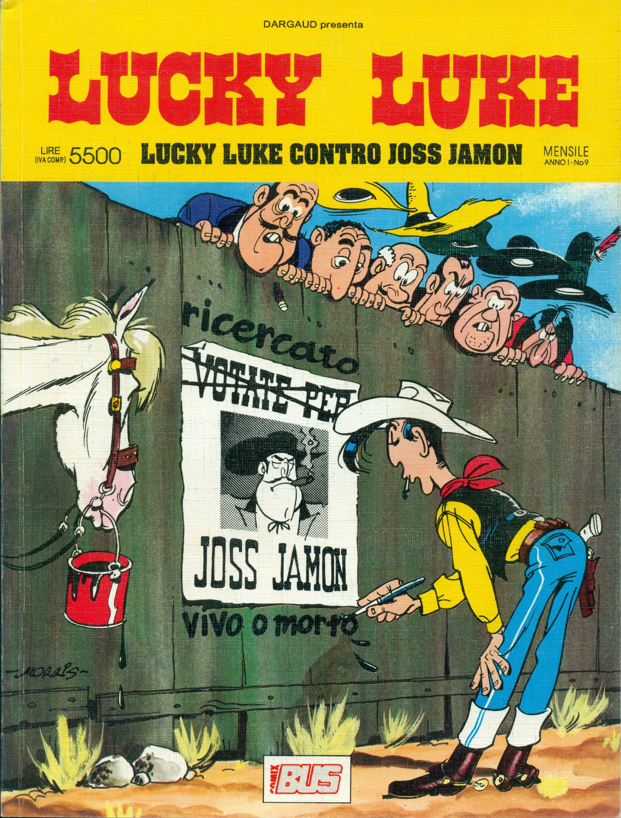 Lucky Luke - Lucky Luke contro Joss Jamon