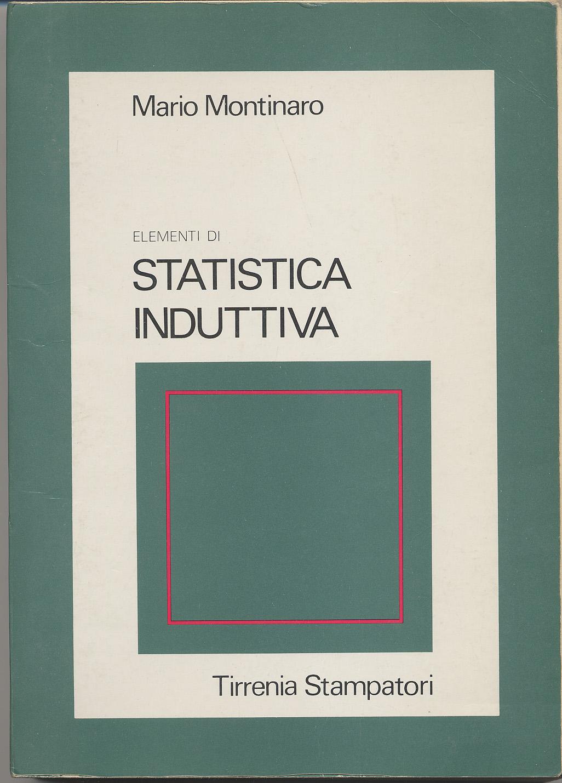 Elementi di statistica induttiva