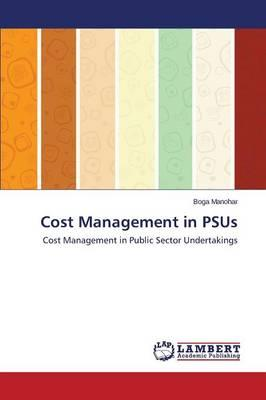 Cost Management in PSUs