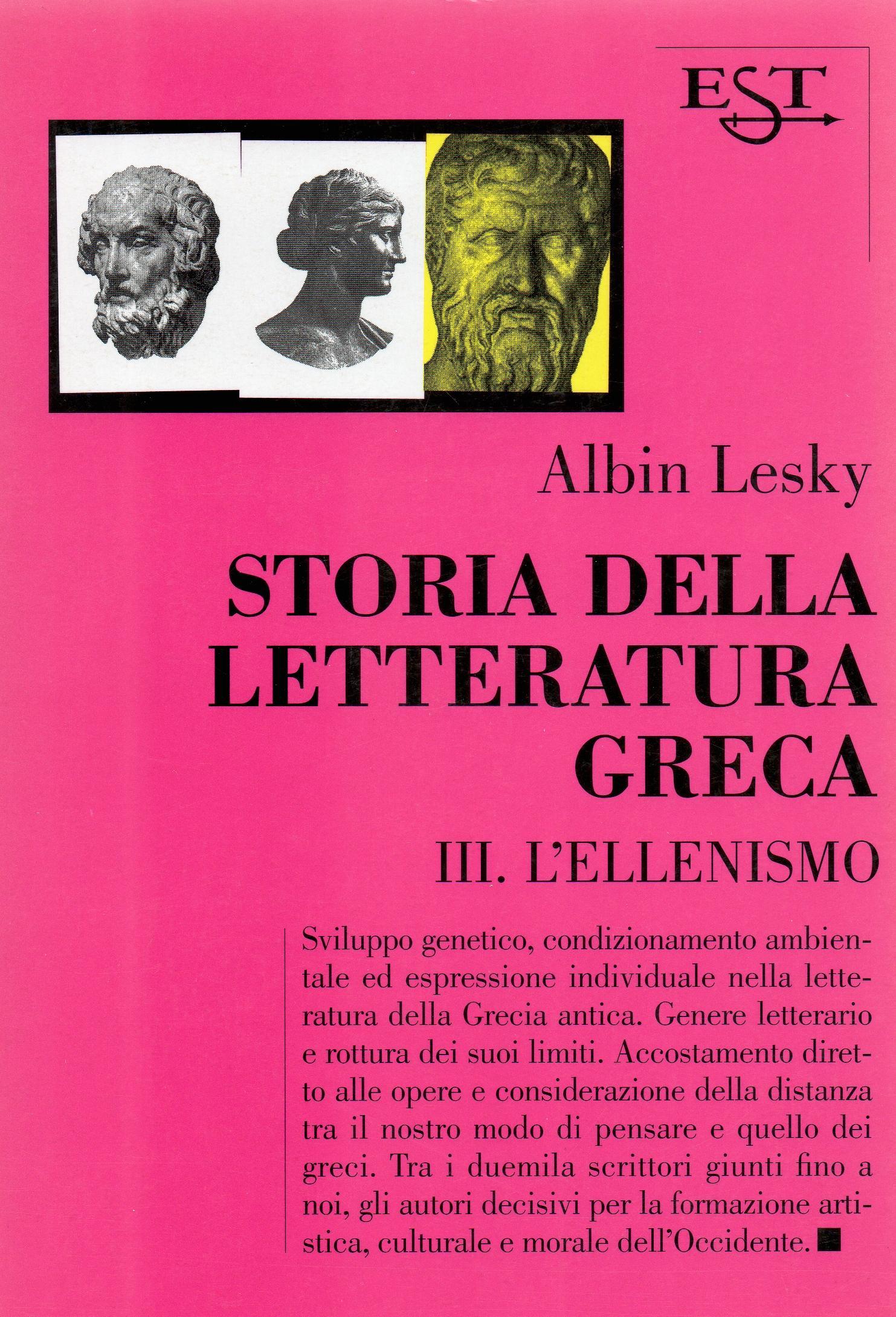 Storia della letteratura greca - vol. 3