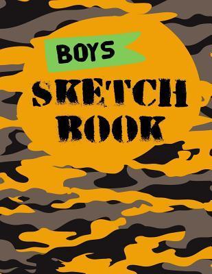 Boys Sketch Book