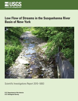 Low Flow of Streams in the Susquehanna River Basin of New York