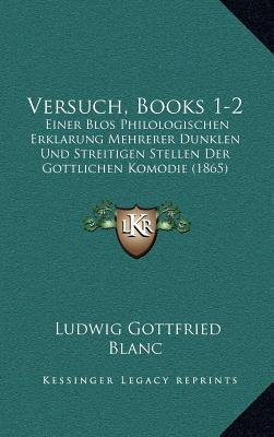 Versuch, Books 1-2