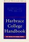 Harbrace College Handbook: With 1998 MLA Style Manual Updates