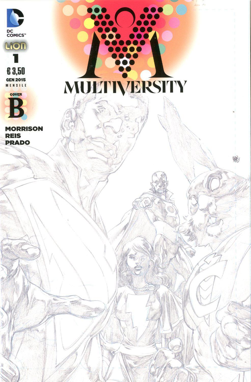 Multiversity n. 1 - Cover B